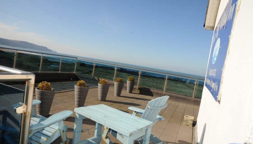 Bay View Inn Bay View Room Balcony