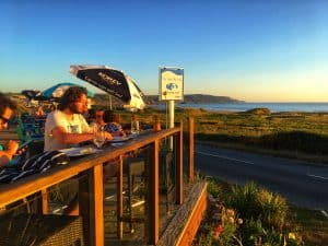 Terrace Dining at The Bay View Inn