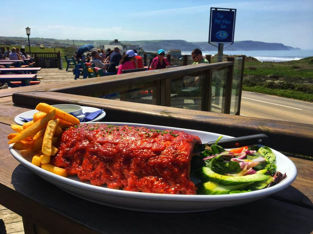 Cornish Ribs at the Bay View Inn