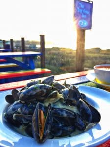 Fowey Mussels at the Bay View Inn