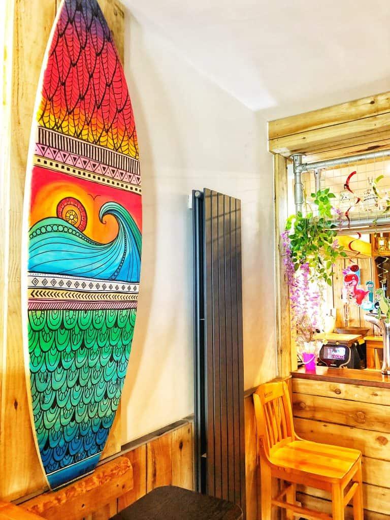 Maia Walczak Surfboard